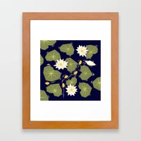 Through The Maze Of Lili… Framed Art Print