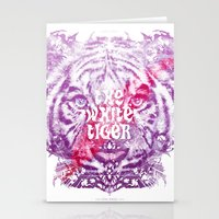 The White Tiger (Savage Version) Stationery Cards