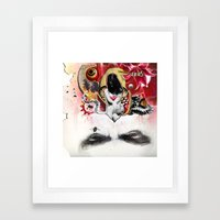 MINGA X Sleepless Is The… Framed Art Print