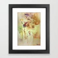 Lost Inside Framed Art Print
