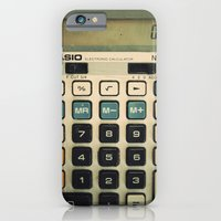 iPhone & iPod Case featuring Calculator by SC Photography