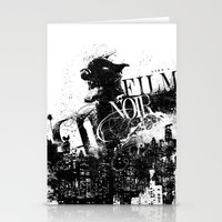 Like A Film Noir Stationery Cards