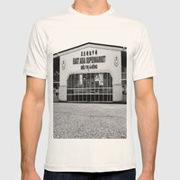 East Asia Supermarket Mens Fitted Tee Natural SMALL