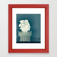Defending Intellectual P… Framed Art Print