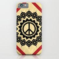 iPhone & iPod Case featuring Peace Mandala by Jon Hernandez