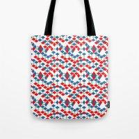 Geometric Number 5 Tote Bag