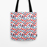 geometric number 5 Tote Bag