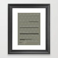 Music For 18 Musicians -… Framed Art Print