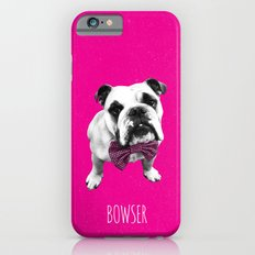 Pink Bowser Slim Case iPhone 6s