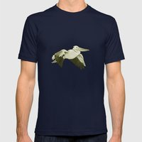 Pellicano Mens Fitted Tee Navy SMALL