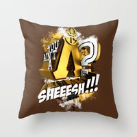 You Ain't A Lambda? SHEE… Throw Pillow