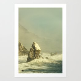 Art Print - Last Rock Standing (color version) - Hraun Photography