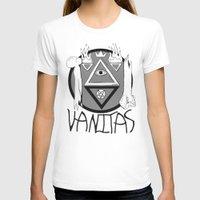 Vanitas Womens Fitted Tee White SMALL
