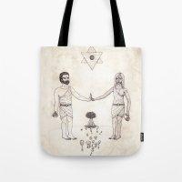 Tarot: VI - The Lovers Tote Bag