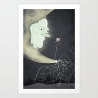 You Never Know Who You'l… Art Print