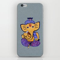 Ganesha iPhone & iPod Skin