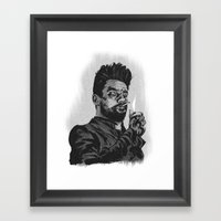 Jesse Custer Preacher Framed Art Print