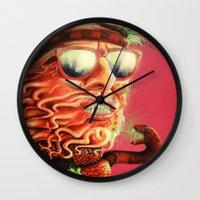 Sexmetal Wall Clock