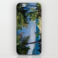 Welcome To Paradise iPhone & iPod Skin