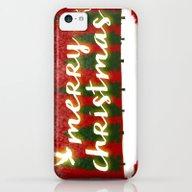 Merry Christmas iPhone 5c Slim Case