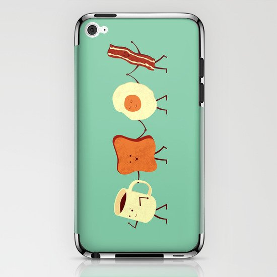 Let's All Go And Have Breakfast iPhone & iPod Skin
