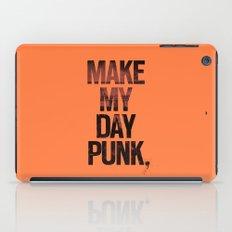 Make my day punk iPad Case