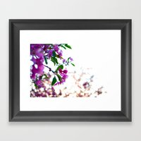 Flowers Of Spring Framed Art Print