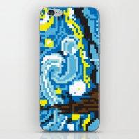 Pixelated Night iPhone & iPod Skin