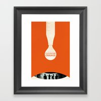 A Clockwork Orange  Framed Art Print