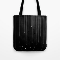 WHITE LITTLE RAIN Tote Bag