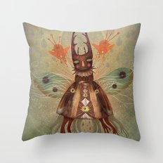 Bow Your Heads and Pray (For The Prey) Throw Pillow