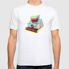 Polaroid SX-70 Land Camera Mens Fitted Tee Ash Grey SMALL