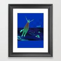 World5 Framed Art Print