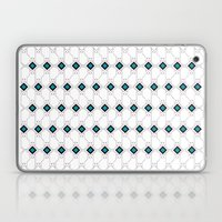 cat box pattern pink Laptop & iPad Skin