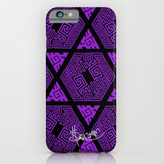 Kagome Greek Fret ... Purple Slim Case iPhone 6s