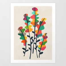 Flower from the meadow Art Print