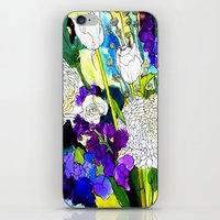forest flowers 1 iPhone & iPod Skin