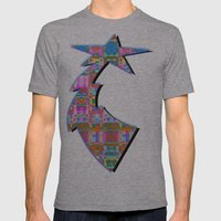 mimic Mens Fitted Tee Athletic Grey SMALL