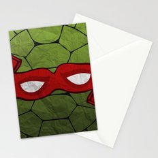 the red turtle Stationery Cards