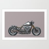 Custom Cruiser 01 Art Print