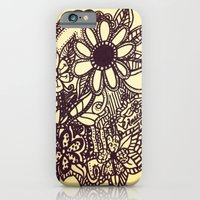 iPhone & iPod Case featuring  Flower Garden by Claudia C