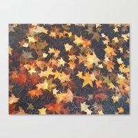 Earth Stars Canvas Print
