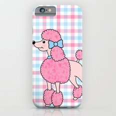 Pink Poodle Slim Case iPhone 6s
