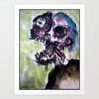 Corpse Rot Art Print