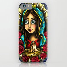 Lady Of Guadalupe (Virgen de Guadalupe) BLUE VERSION Slim Case iPhone 6s