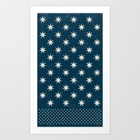 star dot Art Print