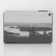 vancouver from cypress mountain. iPad Case