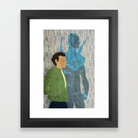 Blue Beetle, Today is the Day Framed Art Print