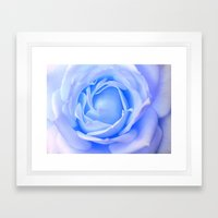 Blue Essence Framed Art Print
