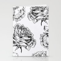 roses Stationery Cards featuring Roses  by Caitlin Workman